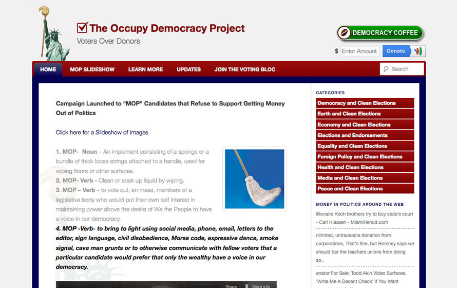 Occupy Democracy Project
